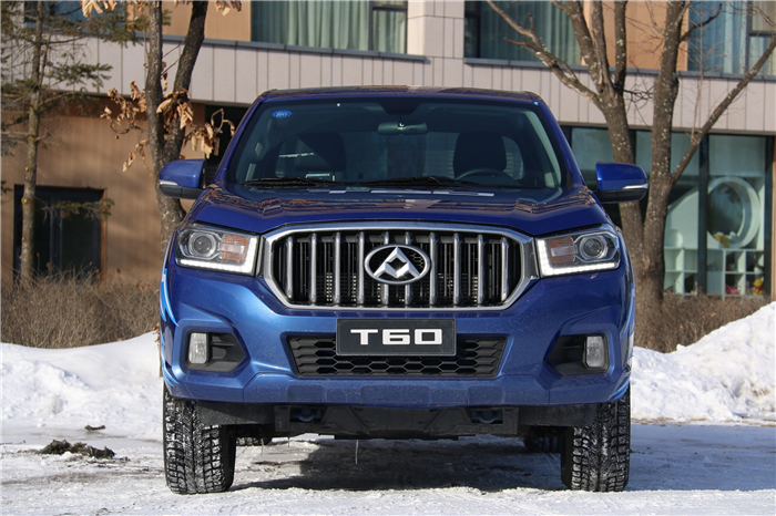 MAXUS T60 shows excellent performance at test drive on Changbai Mountains