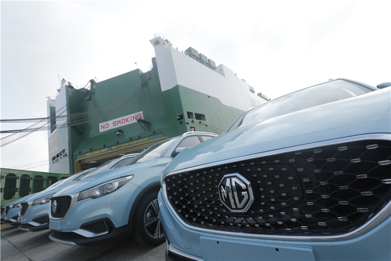 MG ZS electric SUV receives 3,000 orders from Europe
